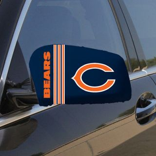 Chicago Bears Small Car Mirror Cover Set FAST SHIPPING PLUS FREE USA