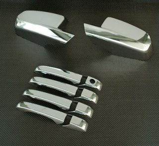 2008 2011 DODGE AVENGER CHROME DOOR HANDLE MIRROR COVER