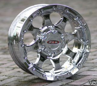 16 inch Chrome Wheels rims MOTO METAL 955 Chevy Gmc 1500 trucks 6 lug