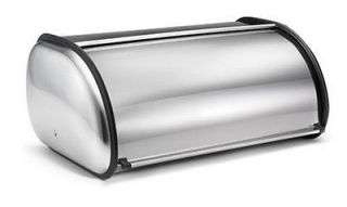 Brabantia Roll Top Steel Kitchen Bread Box Bin Storage