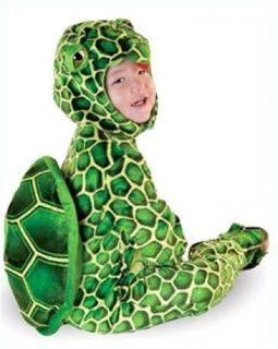 Costumes Baby Toddler Turtle Plush Costume Set
