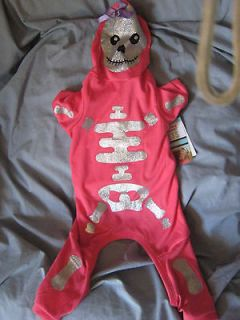 Martha Stewart Pets Dog Pajamas , Costume Medium Skeleton Hoodie