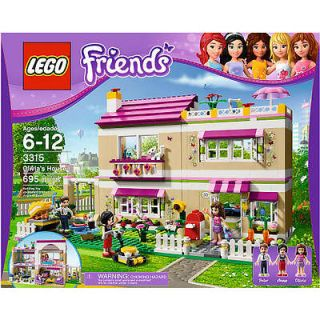 LEGO Friends Olivias House 3315 NEW   SEALED