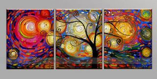 pieces Large Modern Abstract Art Oil Painting Wall Decor canvas NO