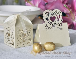 Lots luxury cut out design wedding sweets favour gift boxes with
