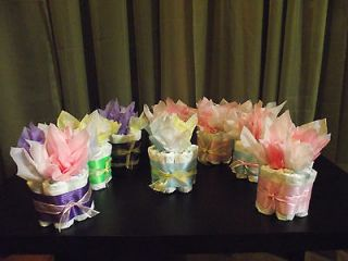 baby shower diaper decorations in Diaper Cakes