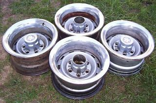CHEVY TRUCK RALLY WHEELS / 15 X 8 / 6 LUG