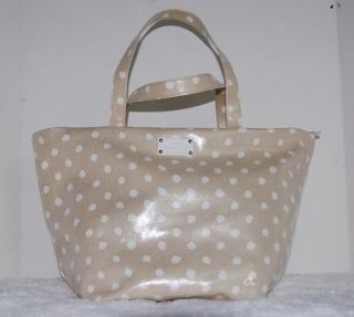 NWT New Authentic Kate Spade Dizzy Dot ANABEL Tote Purse Bag Beige