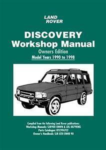 Land Rover Discovery Owners Workshop Manual 1990   1998