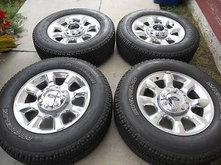 20 FACTORY OEM FORD F250 F350 WHEELS AND TIRES 17 18 (Specification