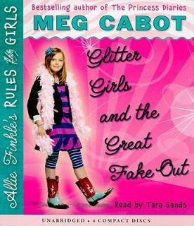 Glitter Girls and the Great Fake Out Bk.5 by Meg Cabot 2010, CD