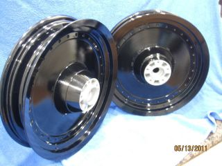Harley Powder Coated Fatboy Heritage Softail O.E.M. FLST Wheels Best