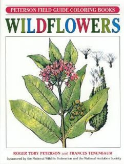 Field Guide to Wildflowers Coloring Book by Frances Tenenbaum and