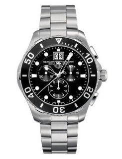 Tag Heuer Aquaracer Mens Chronograph Watch CAN1010.BA0821 Watches