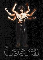 THE DOORS POSTER ~ JIM MORRISON MULTI ARMS 24x34 Music