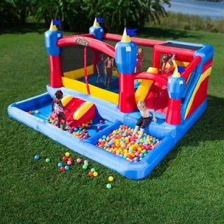 Blast Castle Inflatable Bounce House and Water Slide NEW