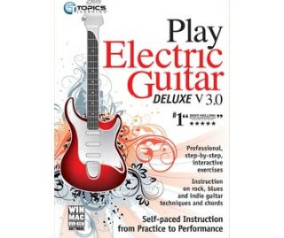 Buy Topics Play Electric Guitar Deluxe v3.0, music learning software