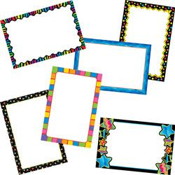 Creative Teaching Press Poppin Patterns Mini Charts Bulletin Board Set
