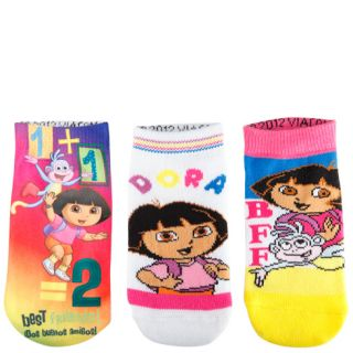 Girls   Dora the Explorer   Girls (3 pk) Dora the Explorer Low Cut