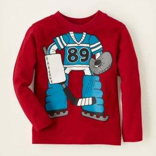 baby boy   hockey graphic tee  Childrens Clothing  Kids Clothes