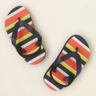 baby boy   shoes   stripe flip flops  Childrens Clothing  Kids