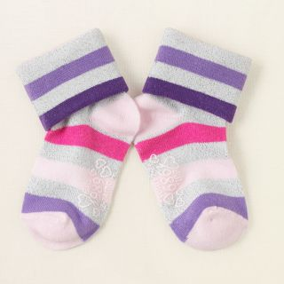 baby girl   shine striped socks  Childrens Clothing  Kids Clothes