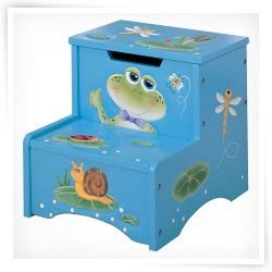 Happy Creatures Step Stool with Storage