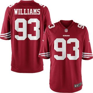 Youth Nike San Francisco 49ers Ian Williams Game Team Color Jersey (S