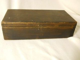 UNUSUAL Antique Vintage Wood Tool Chest Tool Box Childs Tool Box
