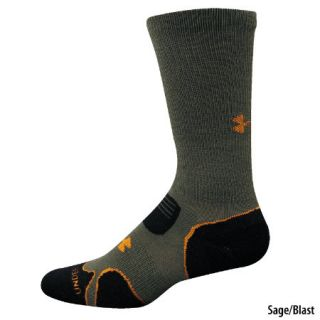Under Armour Mens ColdGear Hitch Light Cushioned Boot Sock   Gander