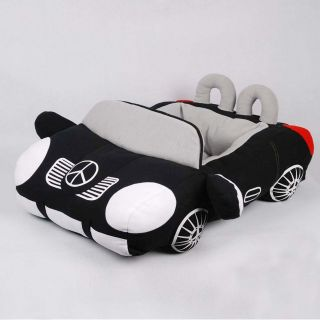 Popular Soft and Warm Pet Dog Cat Car Bed House Sofa Bed Tote Black