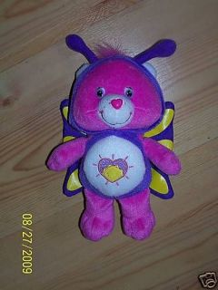 Care Bear Pink Shine Bright Butterfly Costume Plush Soft Toy
