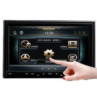 Din 7 Car DVD Player Touch Screen Radio Ipod TV Bluetooth  Stereo