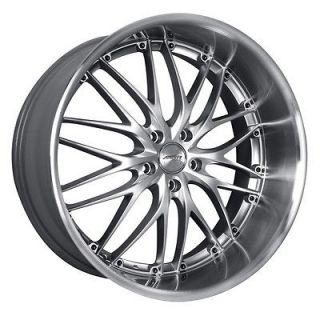 19 MRR GT1 SILVER Wheels Rims Fit INFINITI G35 G37 COUPE SEDAN FX Q45