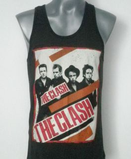 THE CLASH ROCK TANK TOP T SHIRT SIZE S M L