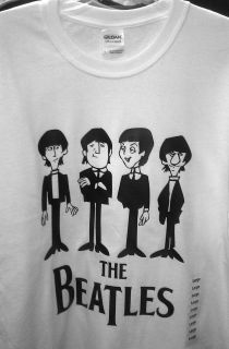 The Beatles T Shirt John Paul George Ringo