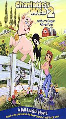 Charlottes Web 2 Wilburs Great Adventure VHS, 2003