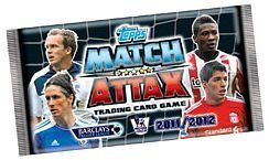 TOPPS MATCH ATTAX TRADING CARDS 2011 12 (11 12) ~ 100 PACKS (FULL BOX)