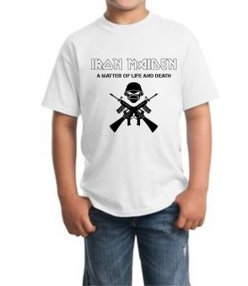Iron Maiden Junior Kid T Shirt all sz XS XL 5 14 Years Old