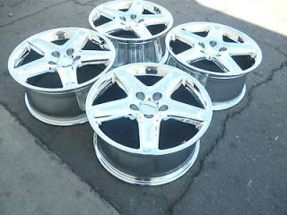 17 acura tl wheels rims new chrome set honda accord civic factory oem