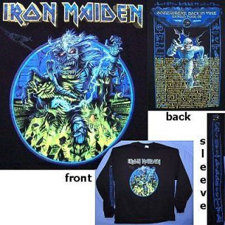 iron maiden tour shirts in Clothing,