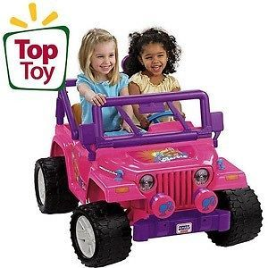 Fisher Price Power Wheels Barbie Jammin Jeep NEW in Box PICKUP ONLY