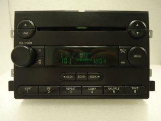 Ford F150 Fusion Mustang Freestyle Radio AUX 6 CD Player 4L3T 18C815