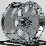 20 Inch Chrome Wheels Rims Toyota Tundra Sequoia Truck 5x150 5 Lug ATX