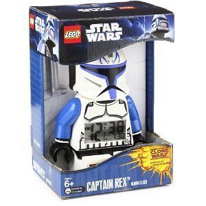 lego star wars captain rex trooper alarm clock figure from