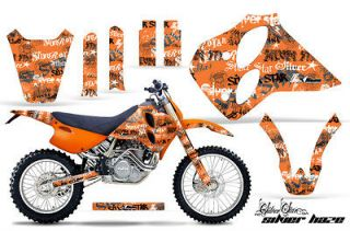 AMR RACING KTM GRAPHIC KIT STICKER MOTO DEKOR LC4 93 99 400/620/540