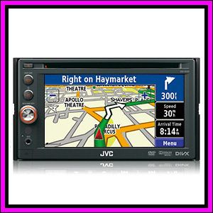 JVC KW AV70 7 Touch Screen + GPS System DVD  iPhone iPod Car