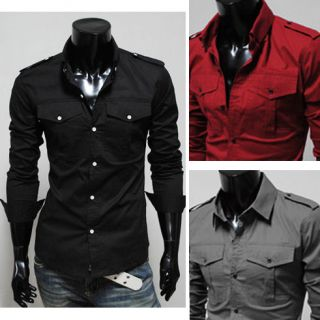 2012 Collection Mens Luxury Formal Casual Jumper Jeans Slim Fit Dress