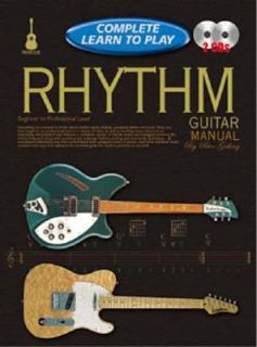 Learn to Play Rhythm Guitar Manual Progressive Complete by Peter