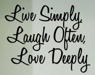 13 live laugh love vinyl decal wall sticker words lettering
